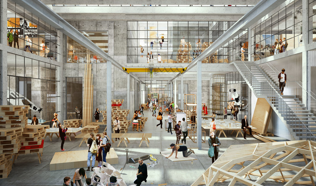 Strong Interdisciplinary Team Wins International Competition for First Newly Built Architecture School in Denmark