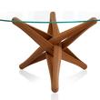 """""""LOCK""""bamboo dinner-table by J.P.Meulendijks for PLANKTON"""