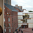 From L to R: Dagmar Richter and Higgins Hall, which is home to the Undergraduate Architecture Department. (Photo Credits: Zachary Tyler Newton and Rene Perez.)