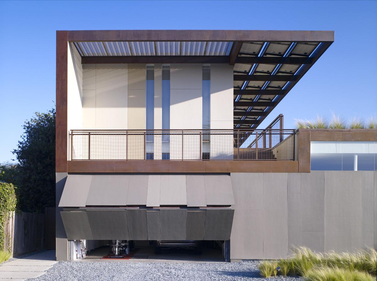 Yin Yang House Brooks Scarpa Archinect