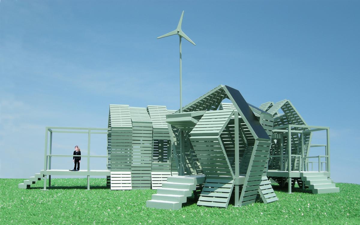 the mobile eco pavilion michael jantzen archinect. Black Bedroom Furniture Sets. Home Design Ideas