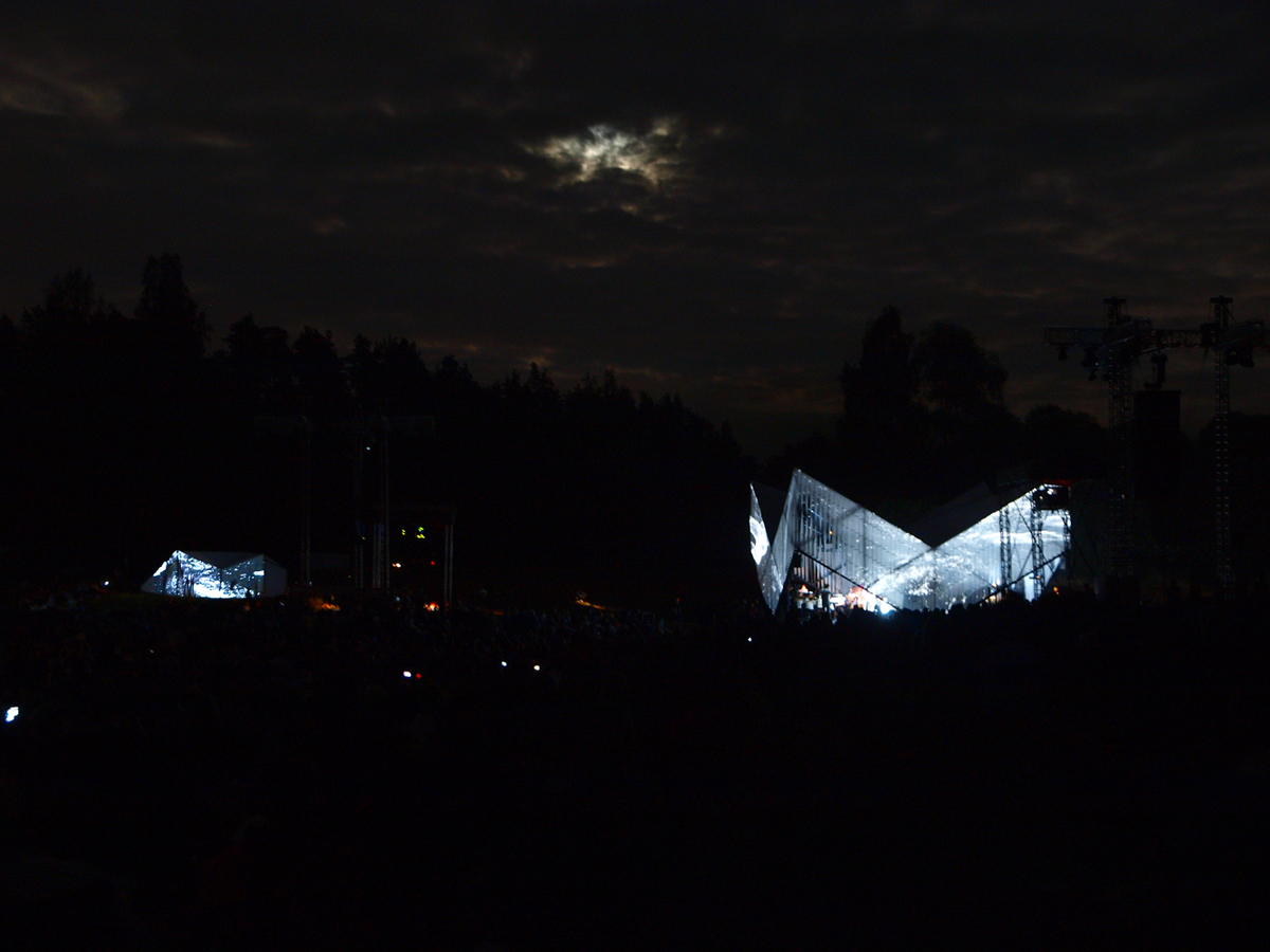 concert at night
