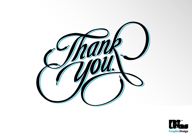 Typography Thank You Lucas Wentzel Archinect