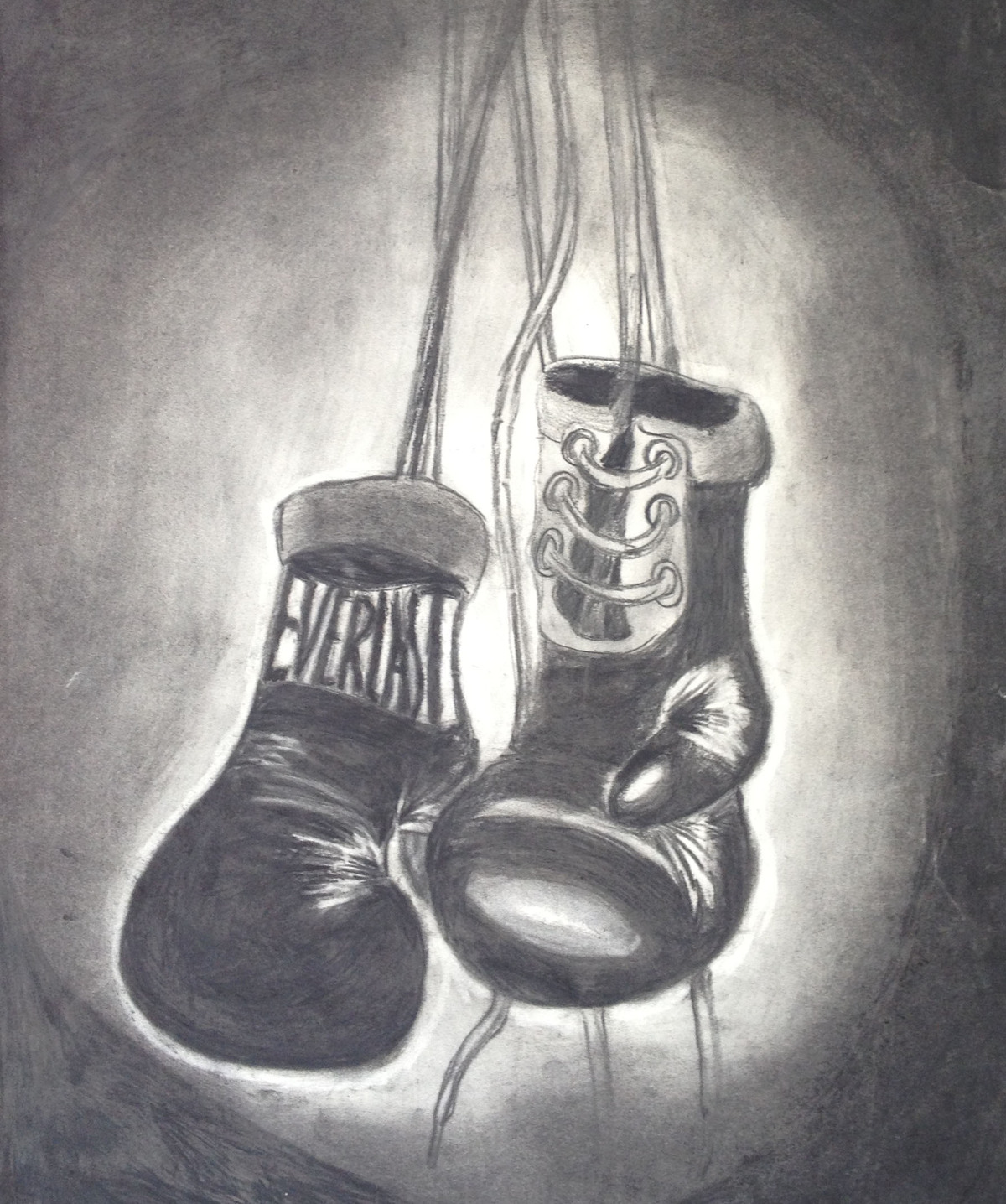 Boxing Gloves, Charcoal