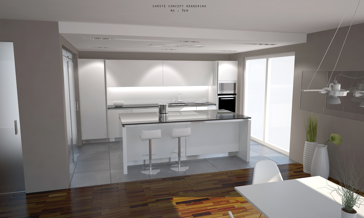 Clean Design Kitchen Michael Schluetter Archinect