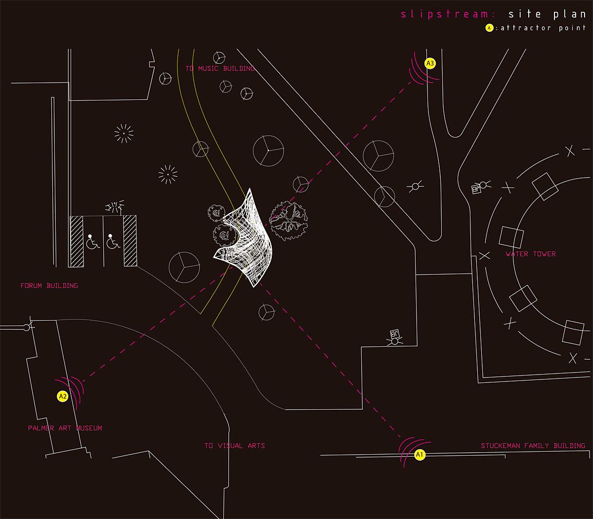 Slipstream: Site Plan