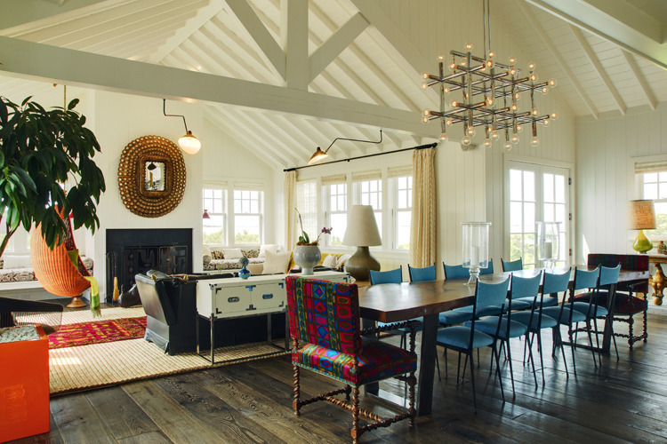 Wauwinet Ramble Dining Area/Living Area. Photo: T.G. Olcott