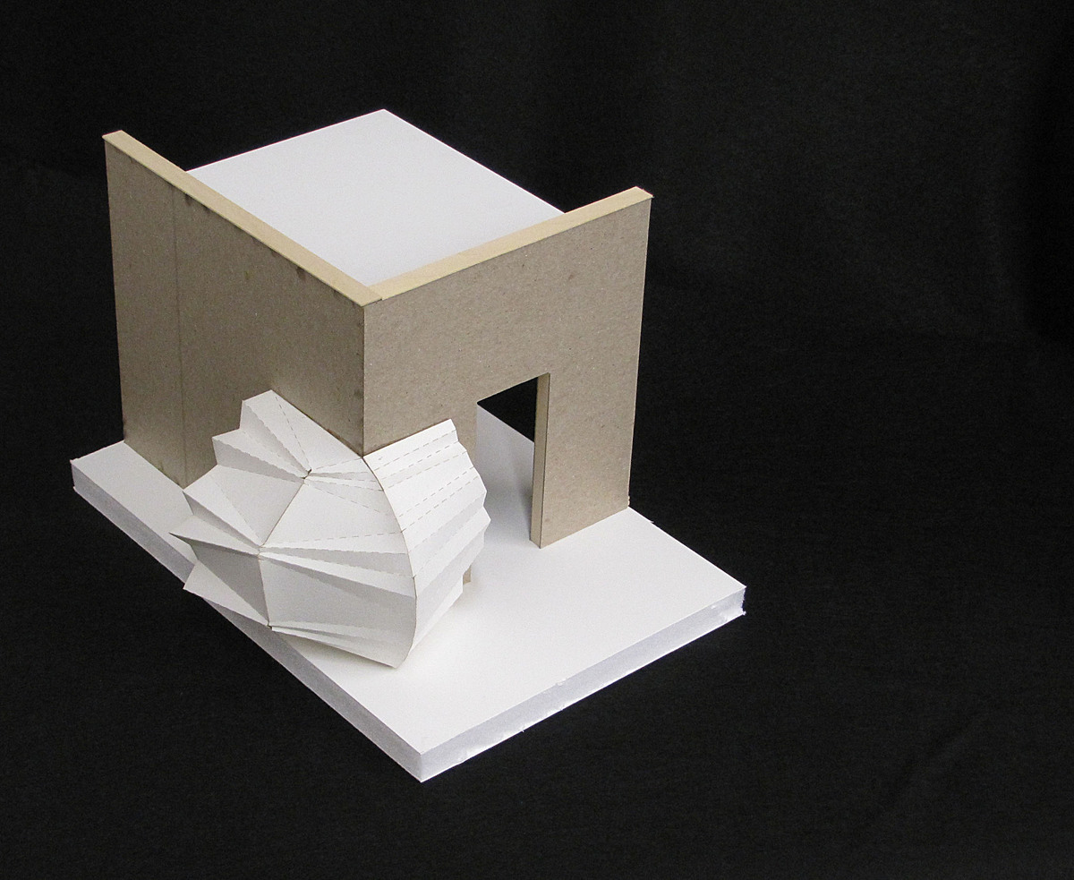 Physical model of Corner Unit