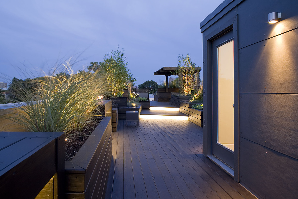 Sculptural Rooftop Garden Dspace Studio Archinect