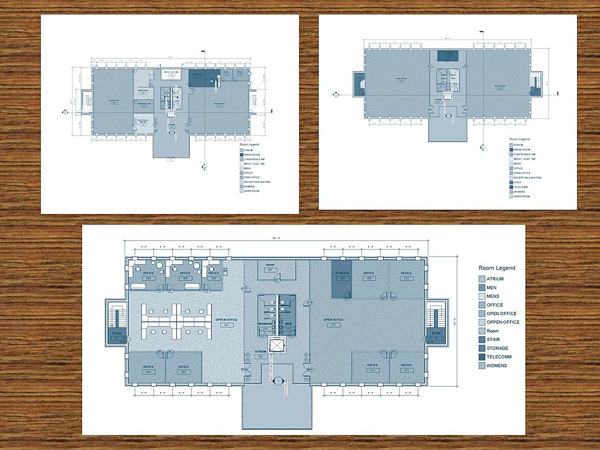 Revit Commercial Project Ricky Brown Archinect