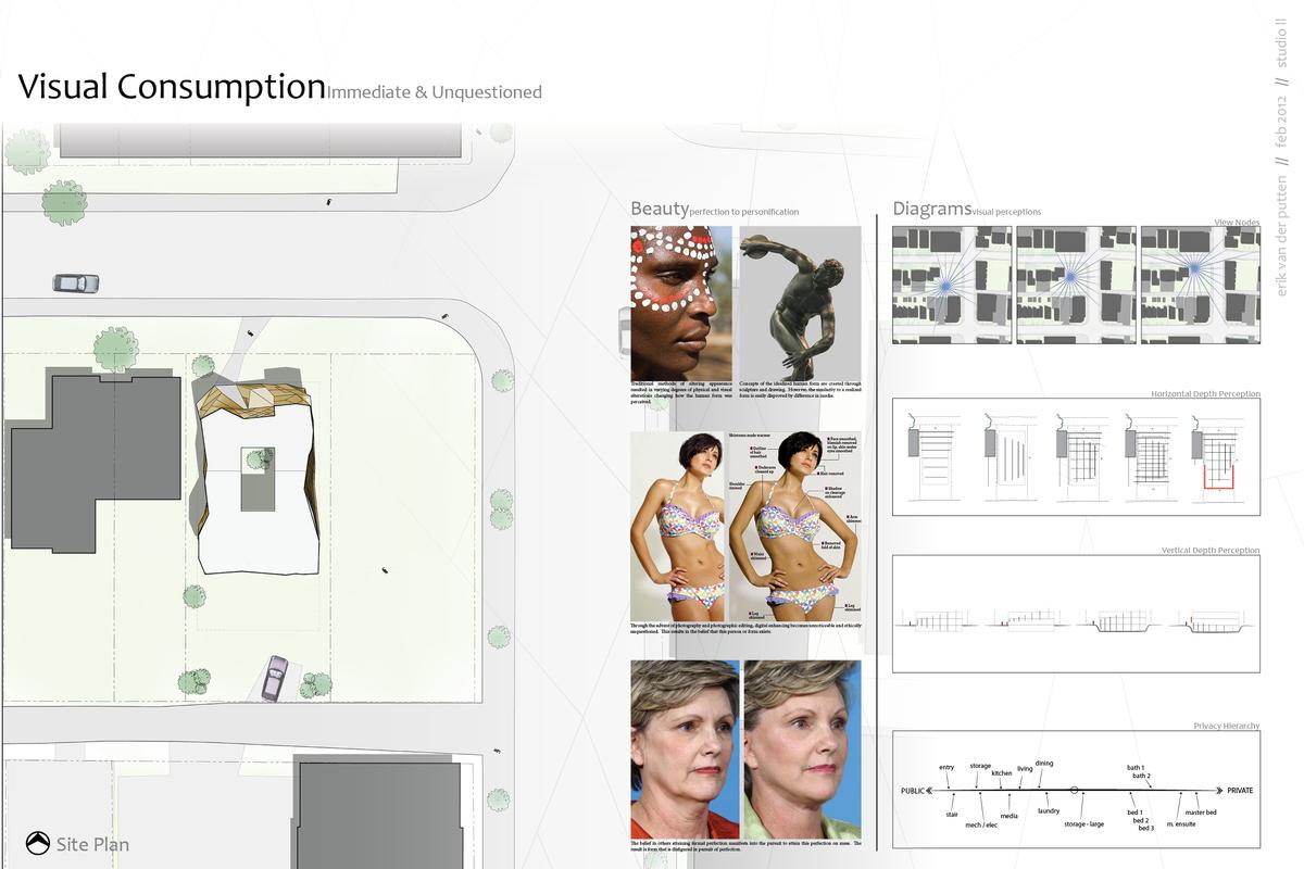 Site Plan + Client + Conceptual Diagrams
