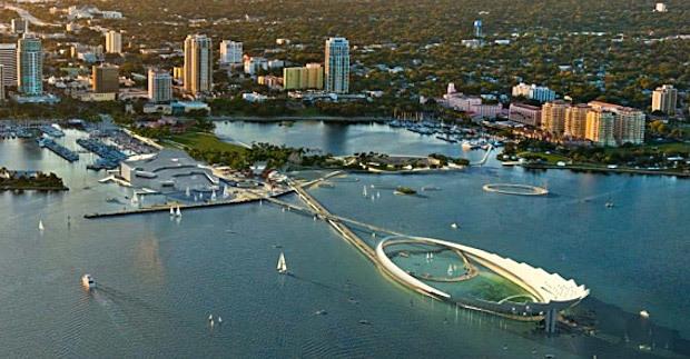 Michael Maltzan Architectures finalist pier design for St. Petersburg, Florida
