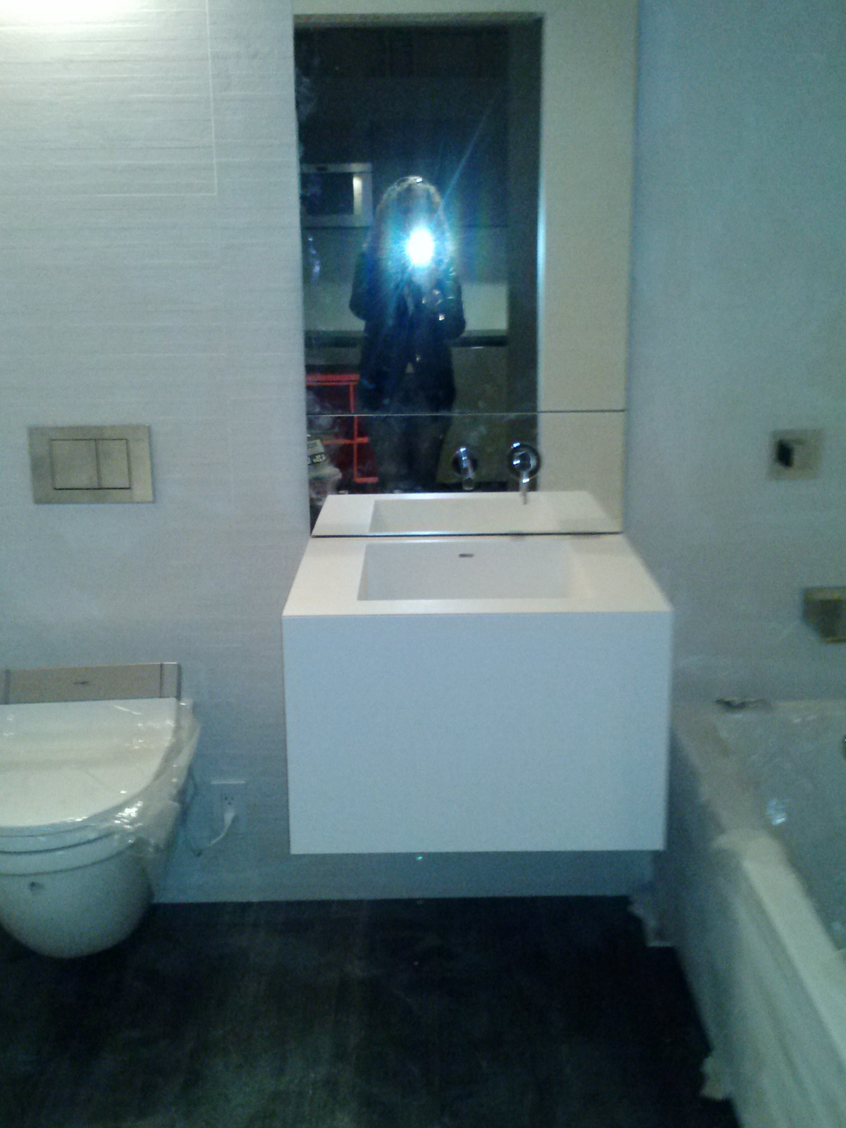 Modern Bathroom in Micro-Space