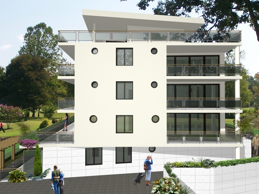 Conception for residential building in Switzerland   Angelina