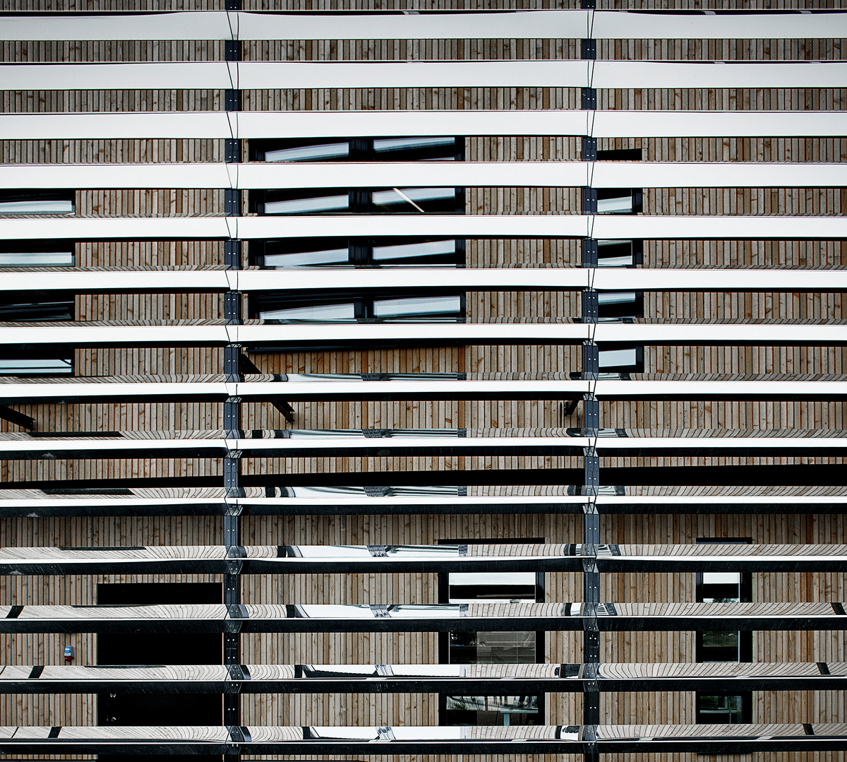 Exterior_gradient of the steel lamellaes_Foto Kåre Viemose