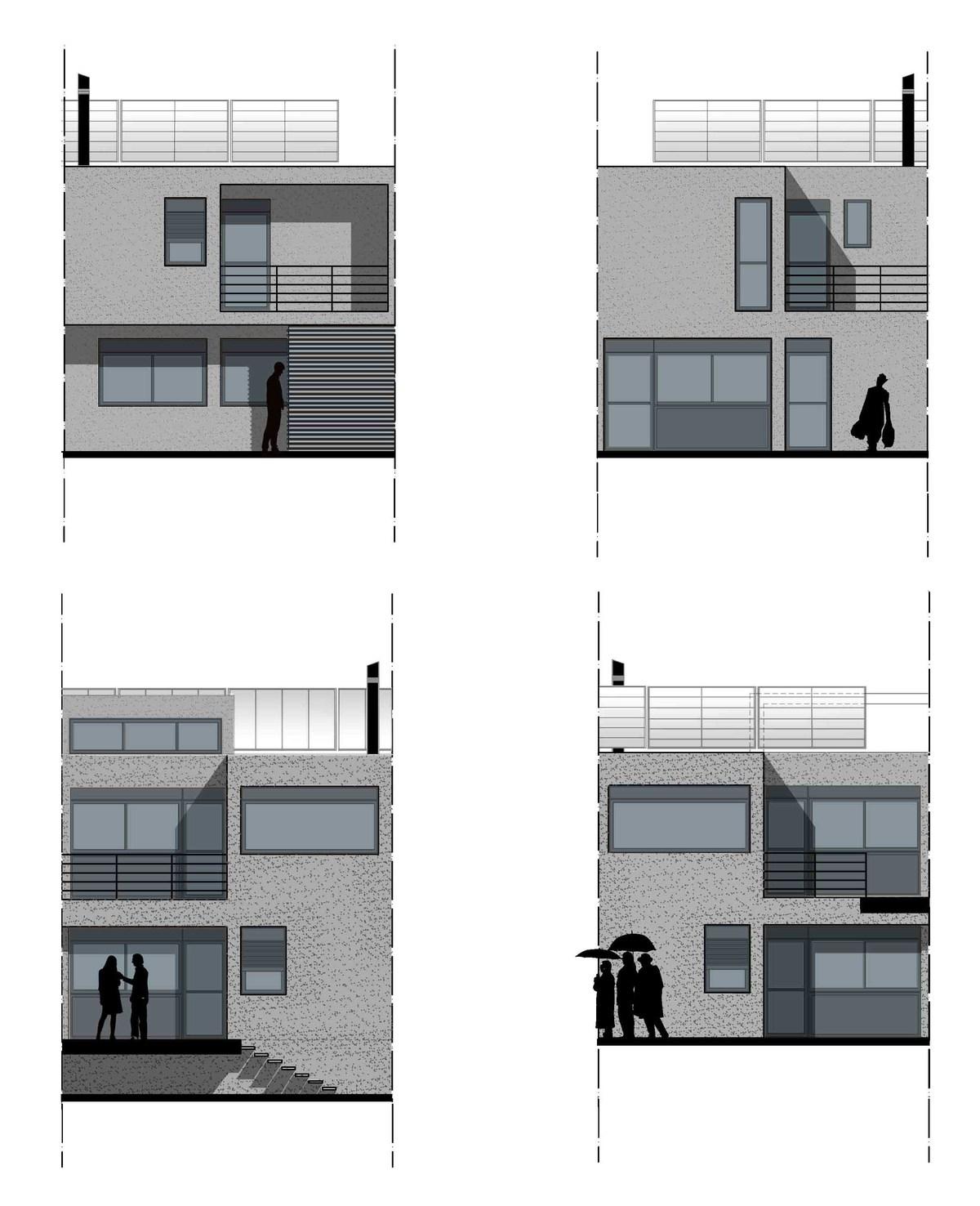 facades type A+B