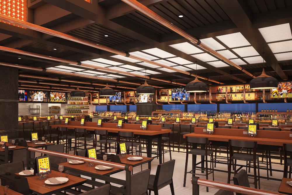 International airport restaurant design dca vincent