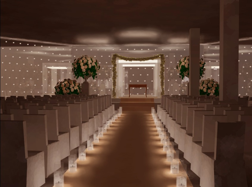 Freelance rendering of Wedding