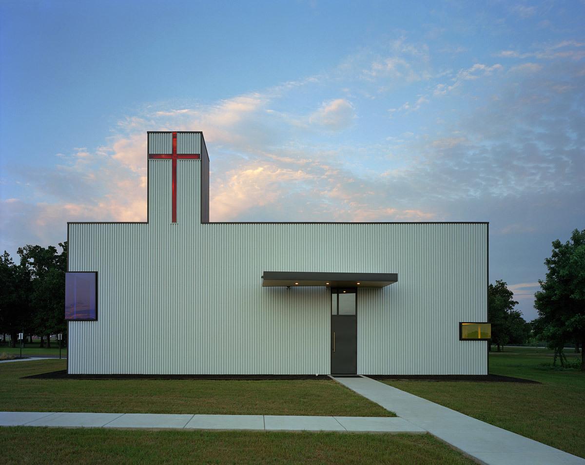 Saint Nicholas Antiochian Orthodox Christian Church; Springdale, AR by Marlon Blackwell Architect (Photo- Timothy Hursley)
