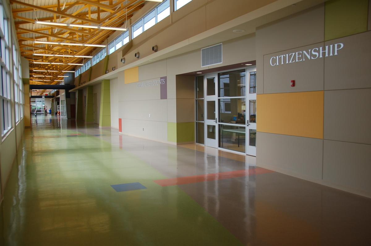 Interior Main Corridor