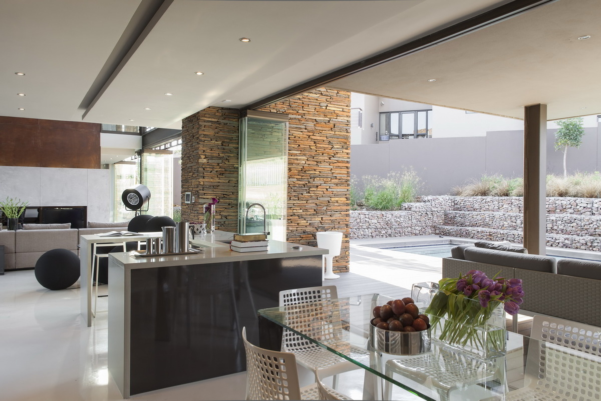 House duk nico van der meulen architects archinect for Steel kitchen cabinets south africa