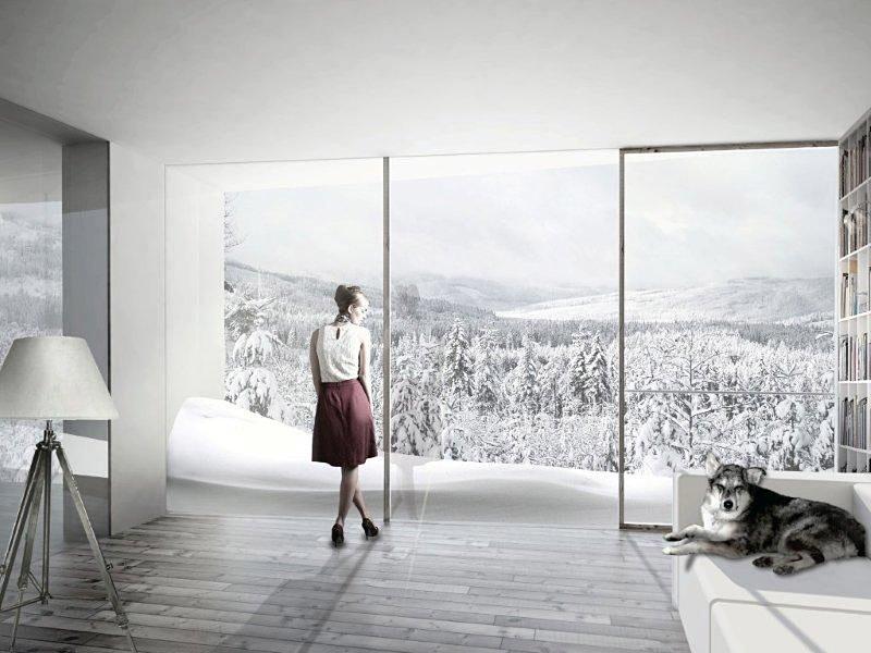 Chalet apartment (Image: BIG)