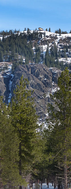 Flagg Mountain Hut photo by Sheela McLean