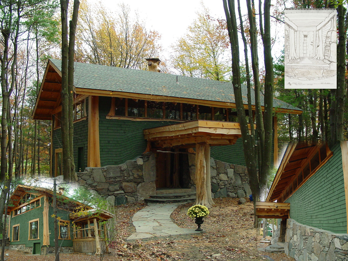 The Woodland Cottage Joseph Messick Archinect