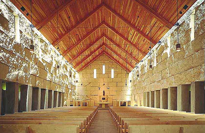 Cistercian abbey cunningham architects archinect for Interior design 75063