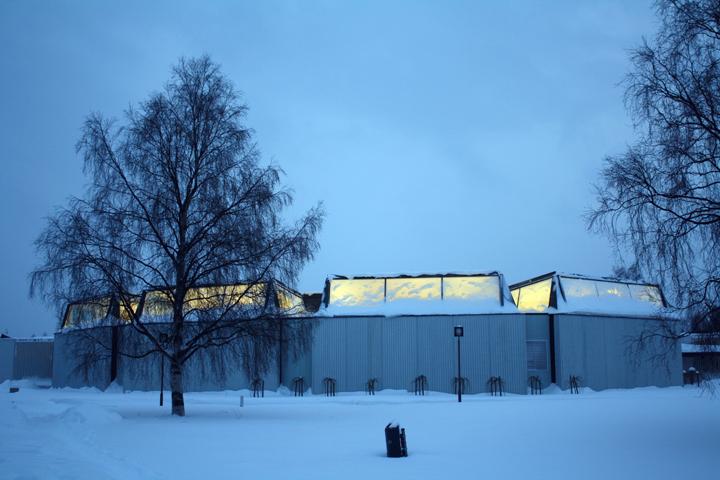 The Regional Library of Lapland, Alvar Aalto. (1965)