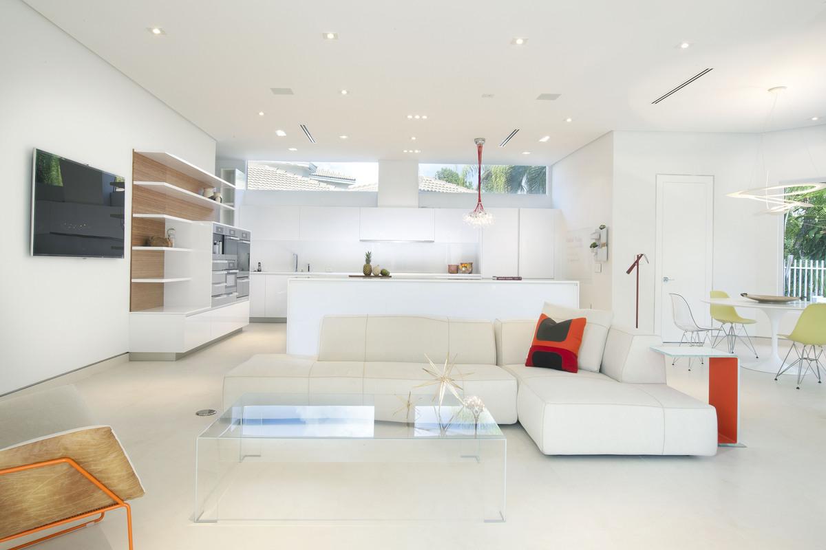 Kitchen / Family Room - Miami Interior Design