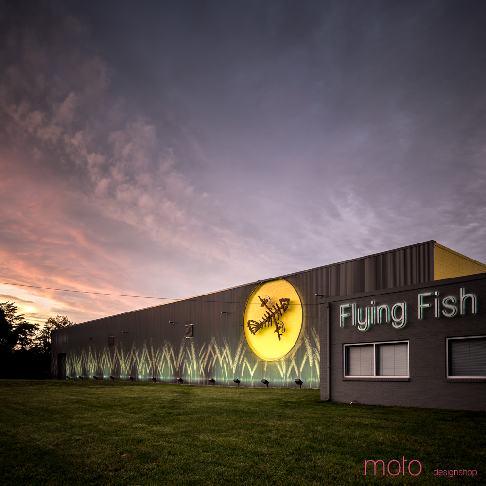 Flying fish brewing company moto designshop inc archinect for Flying fish company