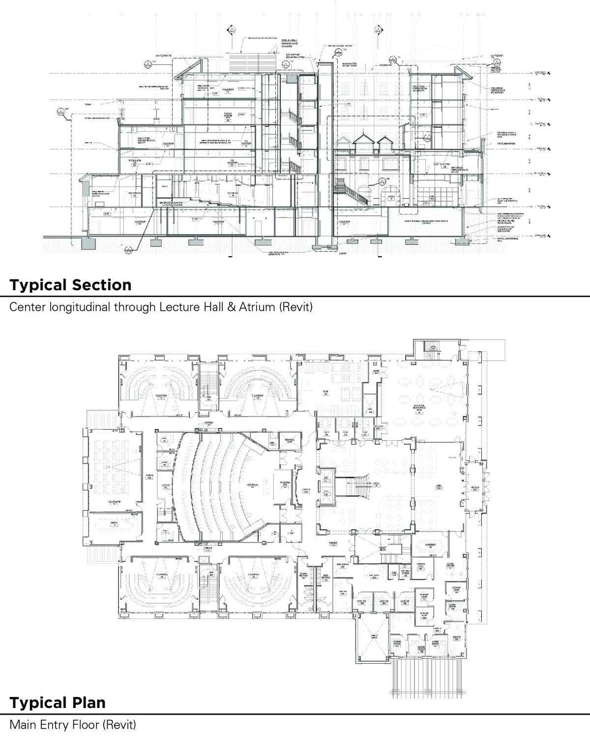 Typical Section & Plan