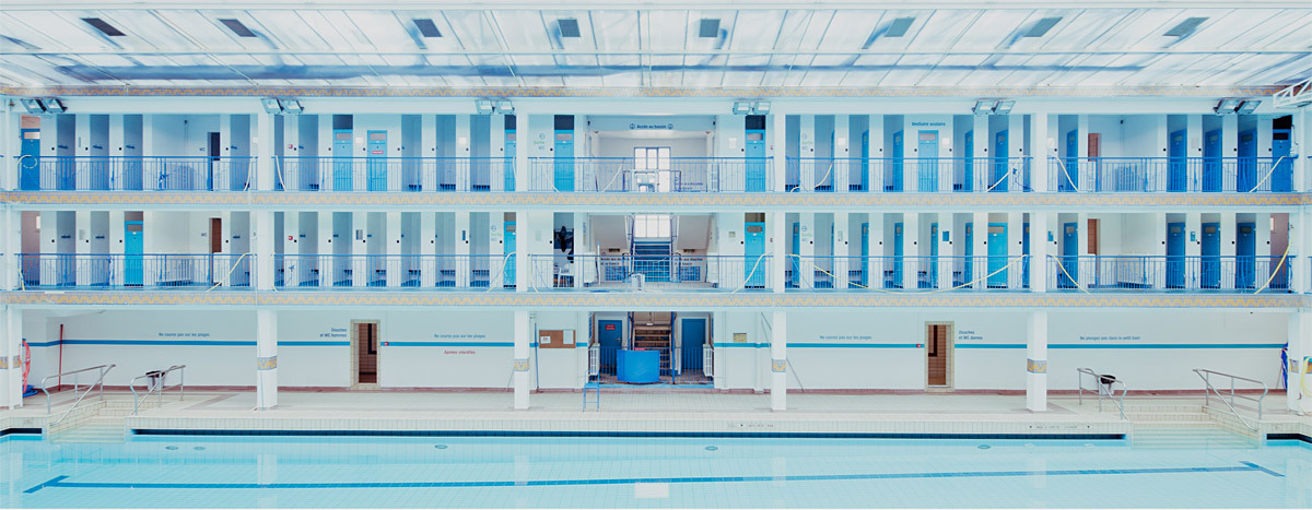 In focus franck bohbot features archinect for Piscine pontoise
