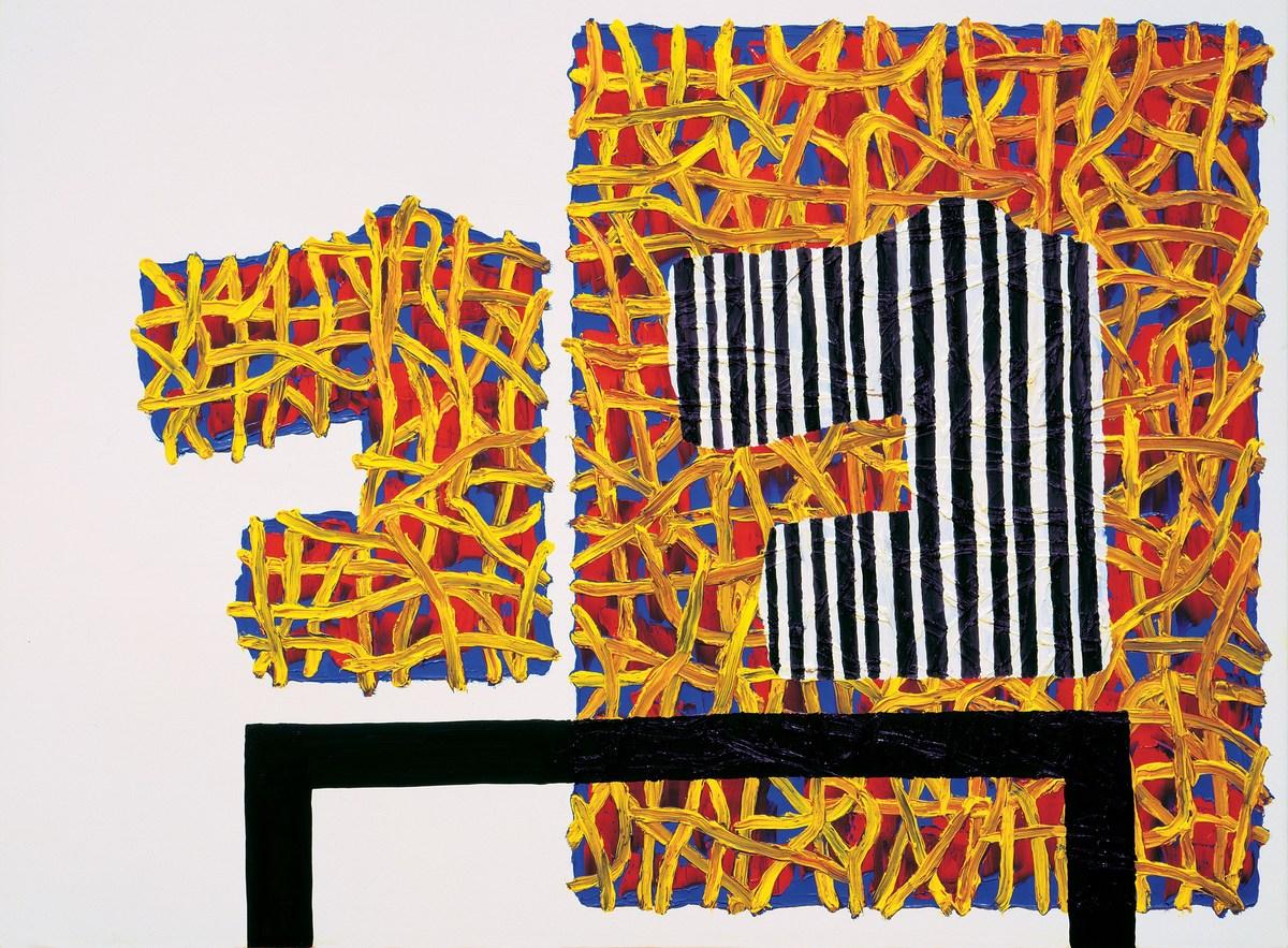 Figure 5. Domestic Arrangement by Jonathan Lasker © Johnathan Lasker. Image via Fresh Meat.