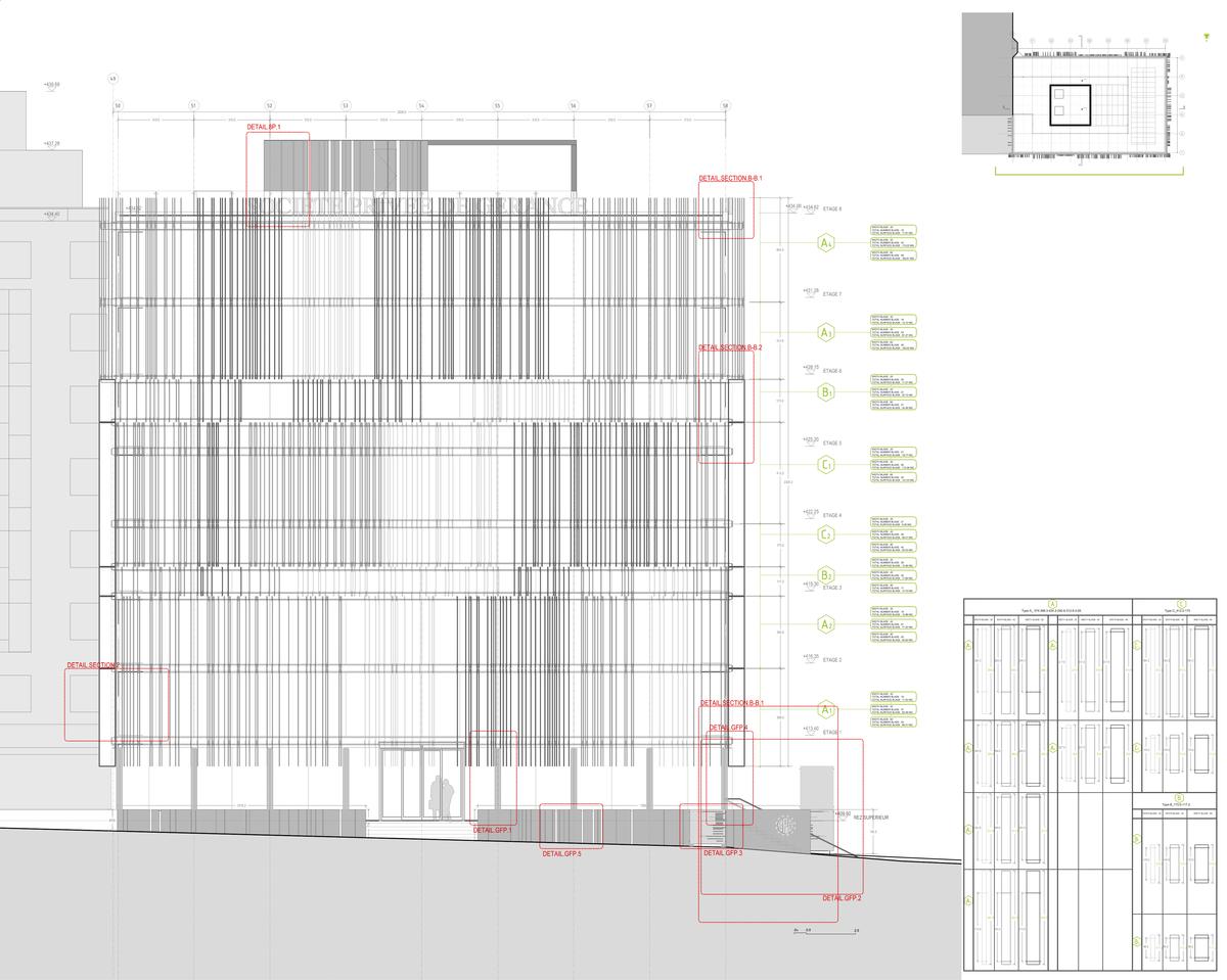 North Elevation. Image: Giovanni Vaccarini Architetti