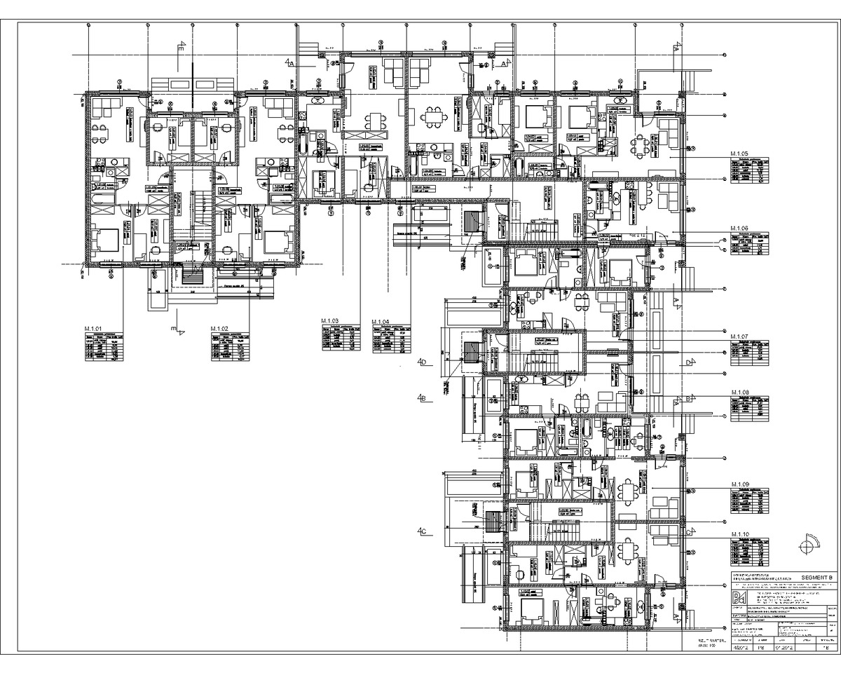 Multi apartment building pila pl ewa roclawski archinect for Apartment building blueprints