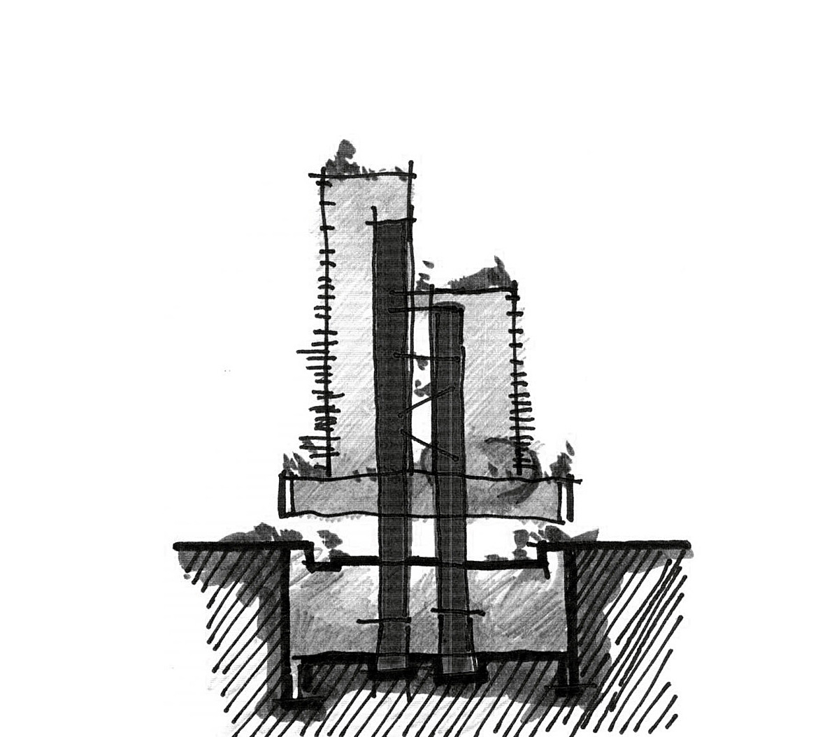 Sketch - section diagram