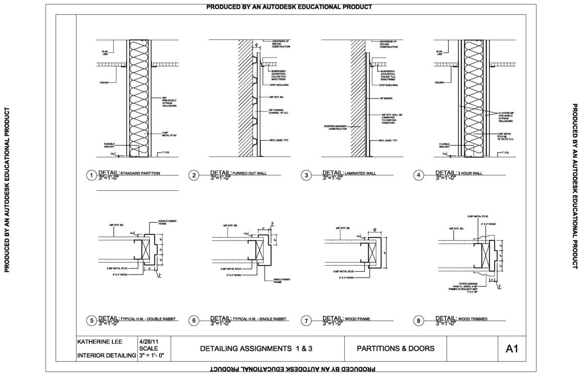 How To Read Floor Plans Measurements Interior Detail Drawings Katherine Lee Archinect