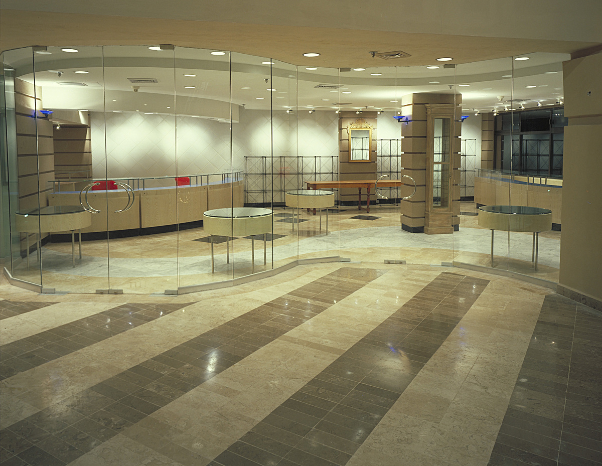 Jewelry from lobby
