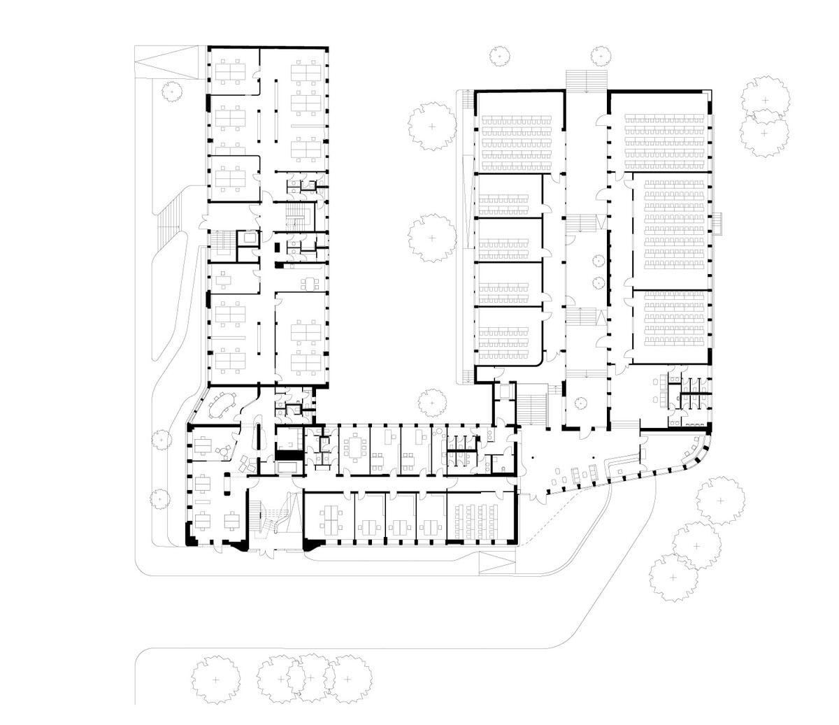 Floor plan, 0 (Image: J. Mayer H. Architekten)