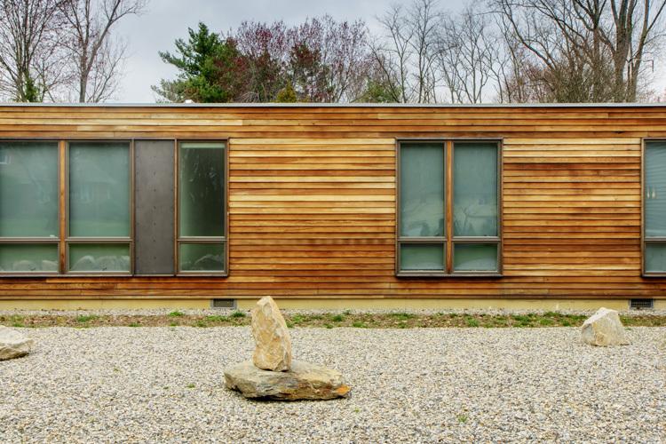 Prairie House Exterior. Photo: T.G. Olcot