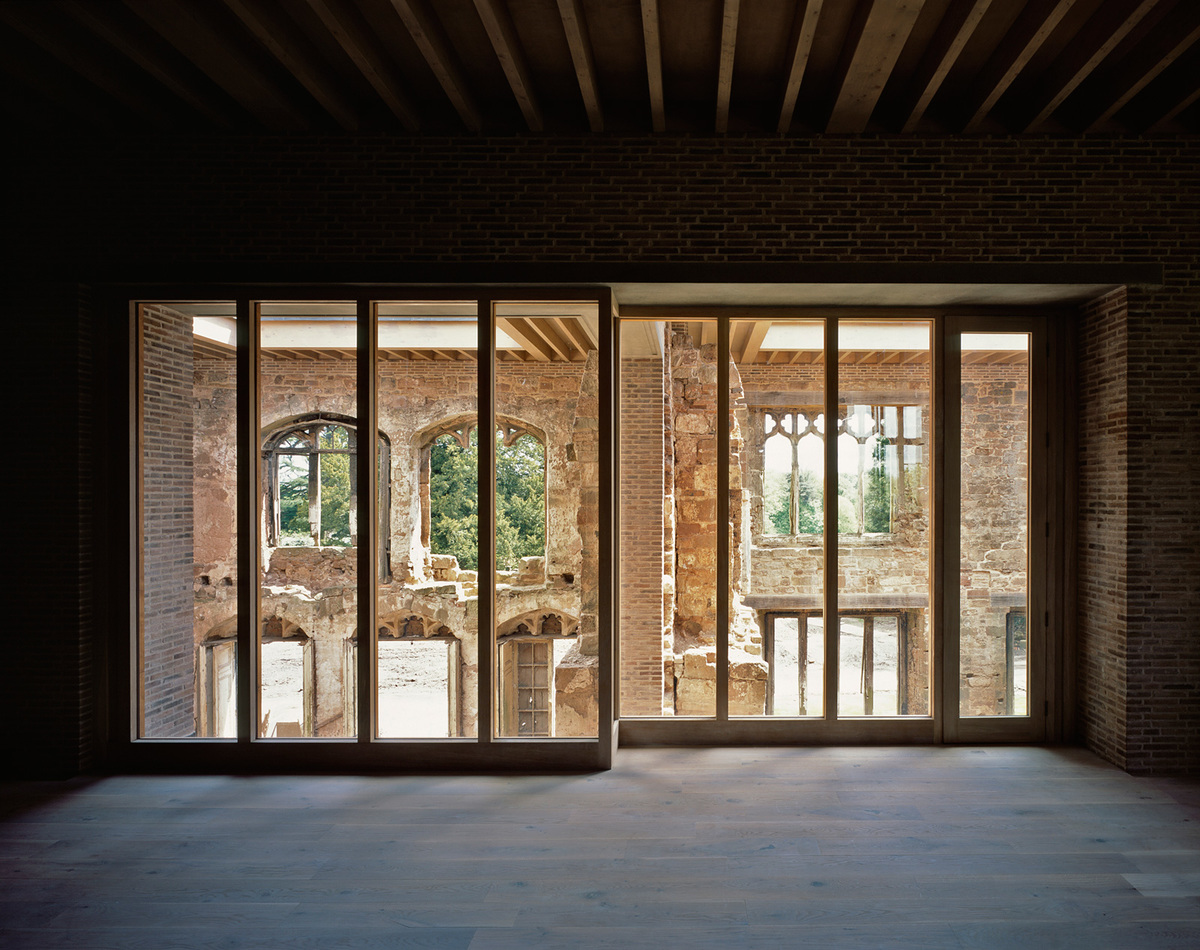 Astley Castle, Warwickshire by Witherford Watson Mann Architects; Photo: Helene Binet
