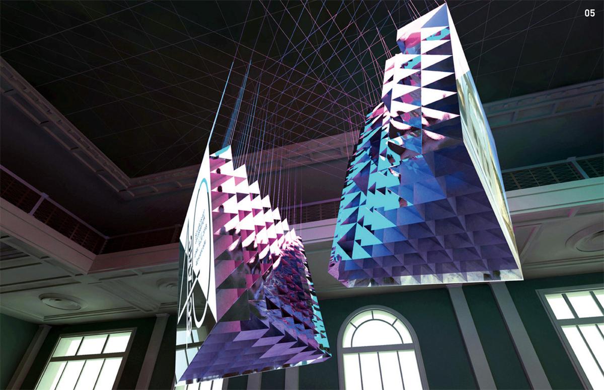 Fractal Projections │Evelina Sausina & Eugene Kosgoron