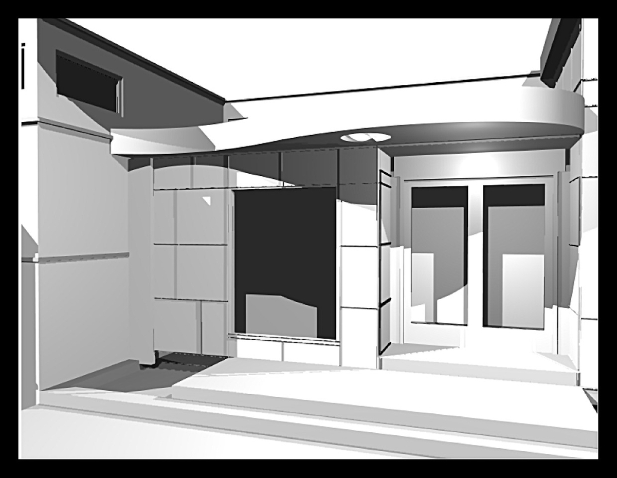Front entry rendering