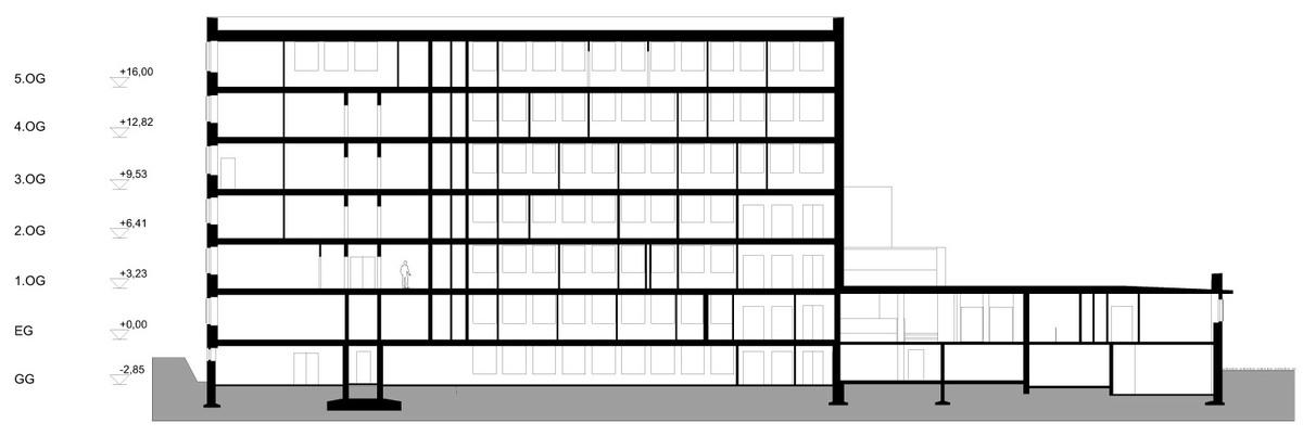 Section AA (Image: J. Mayer H. Architekten)