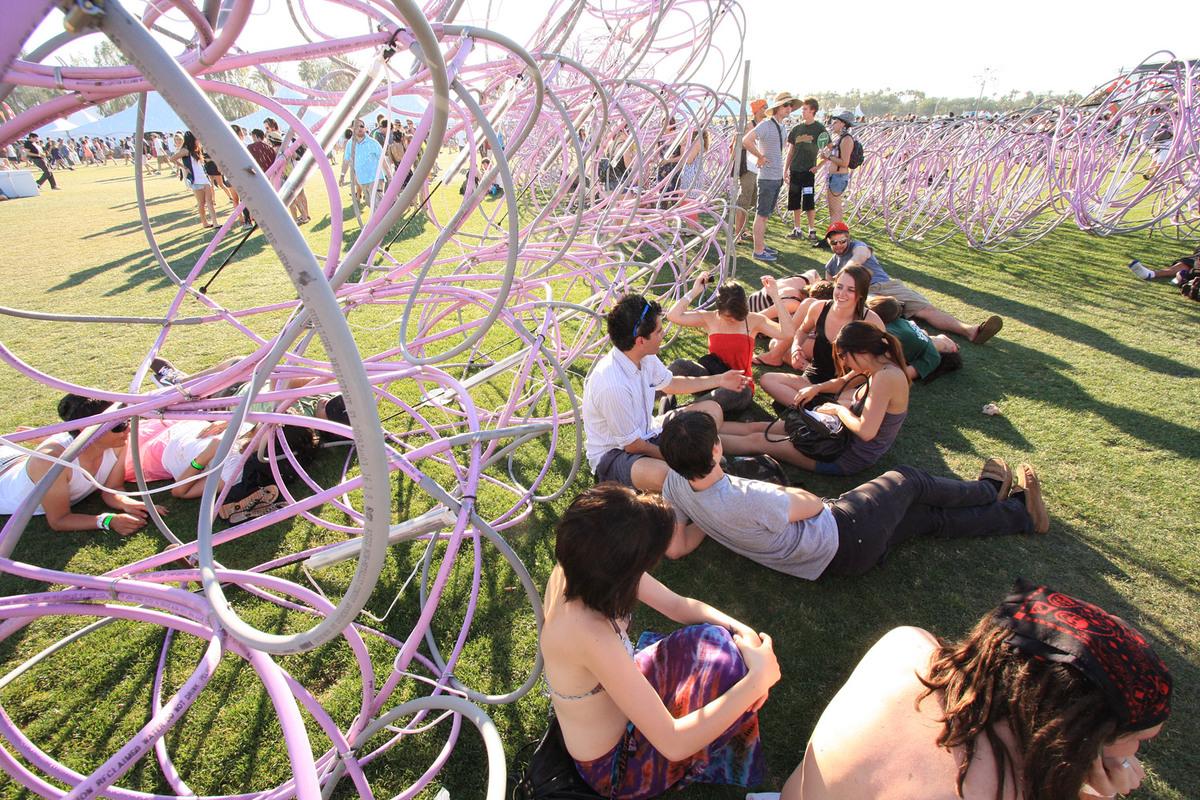 SCI-Arc at Coachella: Elastic Plastic Sponge