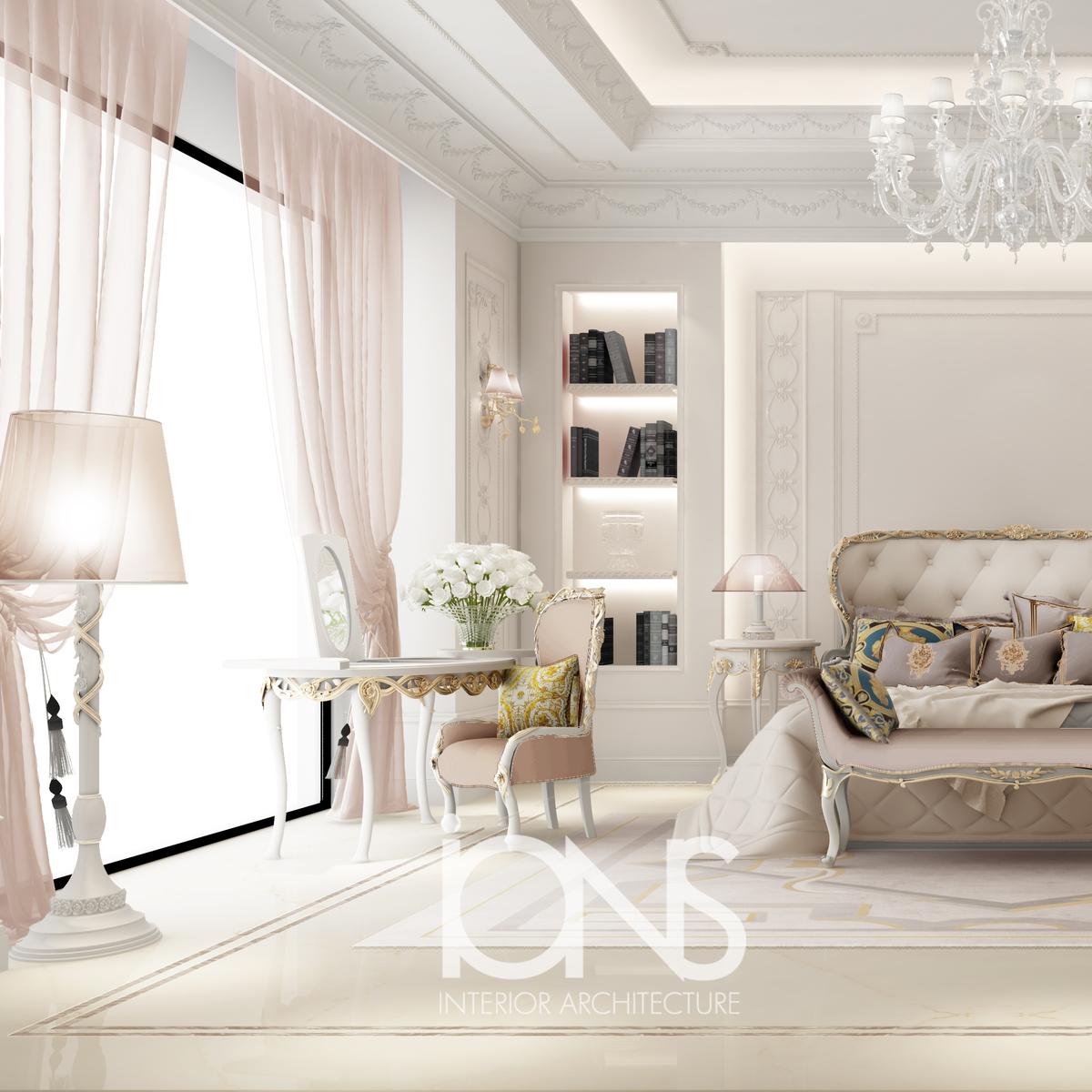 Graceful Feminine Bedroom Design IONS DESIGN Archinect