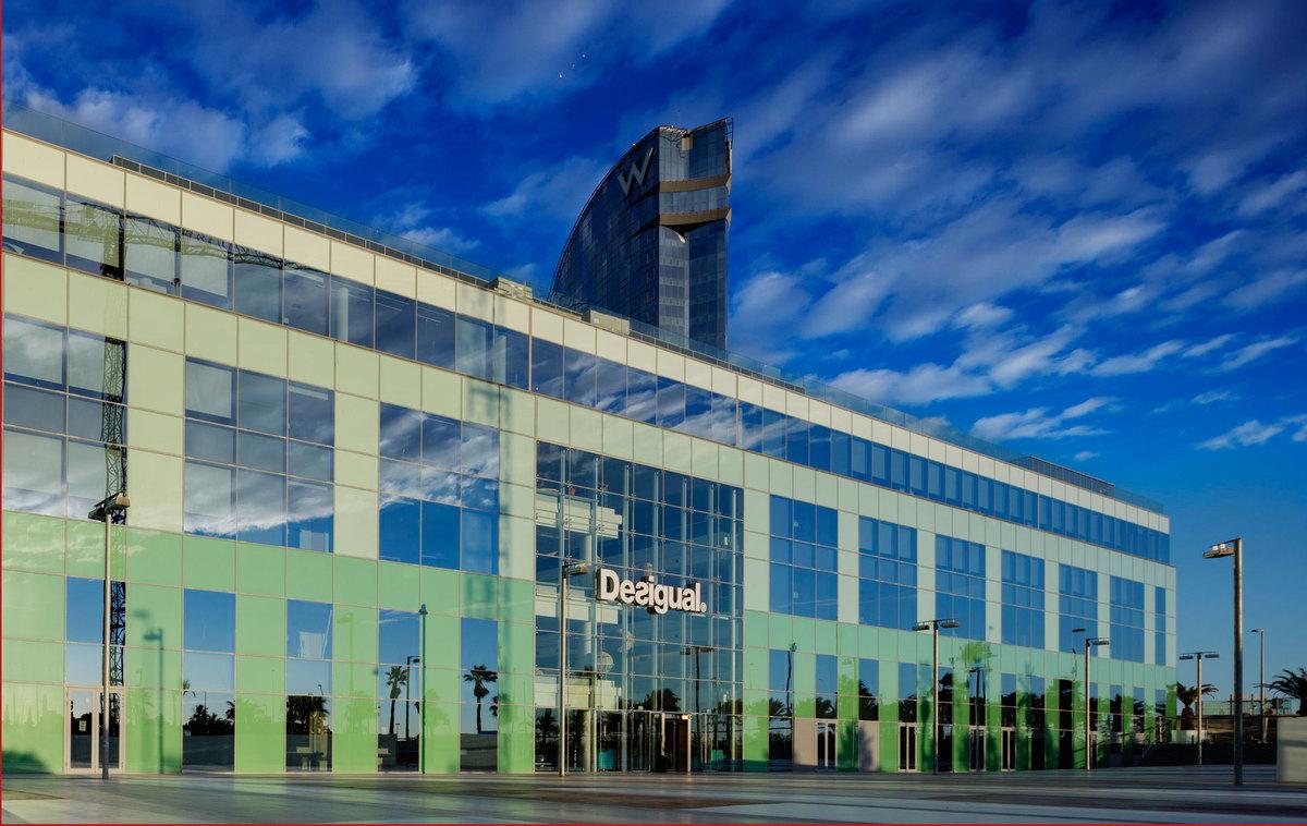 Desigual headquarters ricardo bofill taller de for Blau hotels oficinas centrales