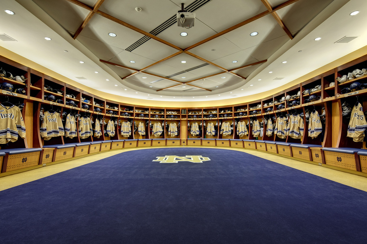 University Of Notre Dame Compton Family Ice Arena